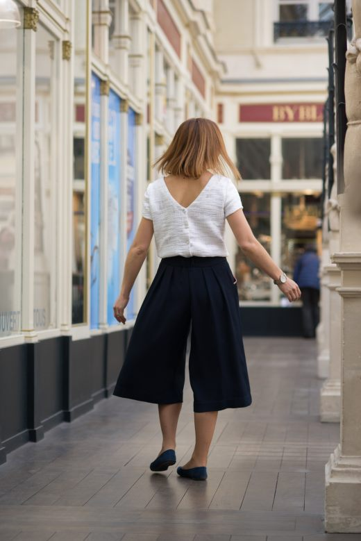 pantalon aoi julie laurent haute couture collection printemps 2018 made in france