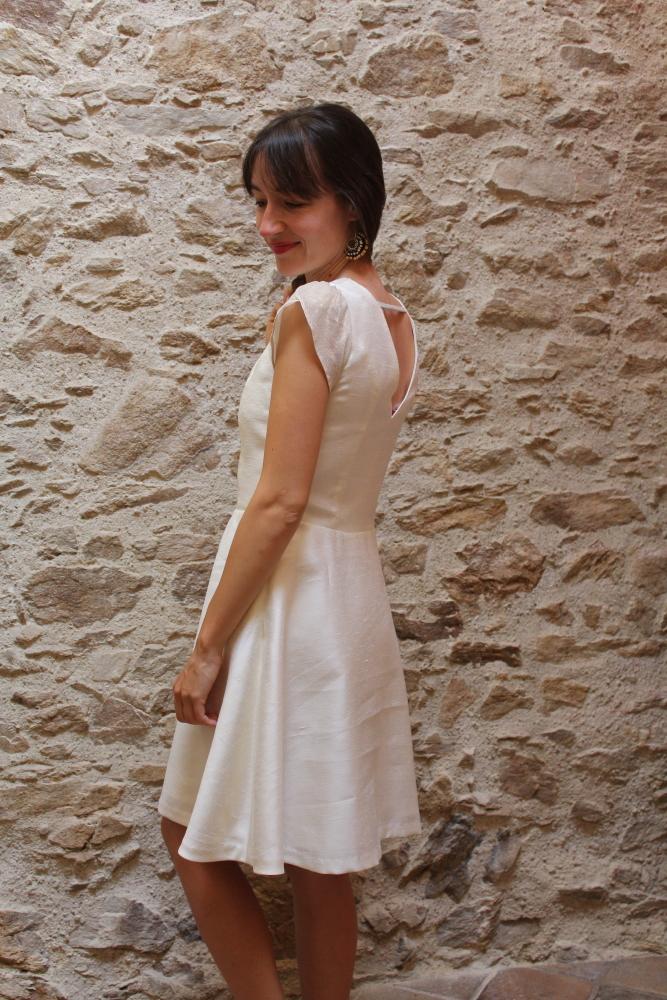 Robe De Mariee Semi Mesure Sur Mesure Nantes Julie Laurent